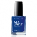 "AVON COLOR - lakier do paznokci ""Żelowy manicure"" GEL SHINE z olejkami Omega =SAPPHIRED UP="
