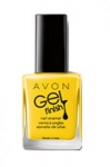 "AVON COLOR - żelowy lakier do paznokci ""Gel Finish"" =LIMONCELLO="