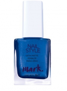 MARK - NAIL STYLE STUDIO - satynowy lakier do paznokci =MYSTICAL MERMAID=