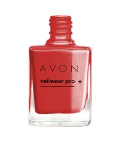 "AVON COLOUR - lakier do paznokci ""Nailwear Pro+"" =ORANGE SUN="