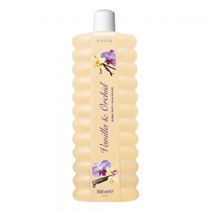 "BUBBLE BATH - płyn do kąpieli ""Vanilla & Orchid / Waniliowa orchidea"" 500ml"