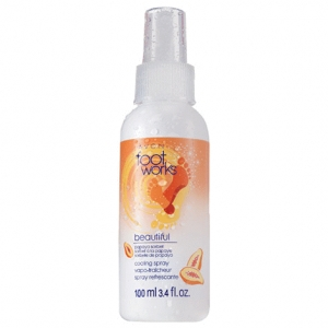 FOOTWORKS - BEAUTIFUL - SORBET Z PAPAI - spray chłodzący do stóp 100ml