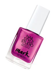 MARK - NAIL STYLE STUDIO - satynowy lakier do paznokci =PAMPERED PRINCESS=