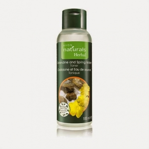NATURALS HERBAL - GLISTNIK & WODA ŹRÓDLANA - tonik do twarzy 100ml