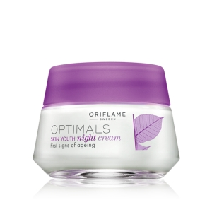 OPTIMALS - SKIN YOUTH - krem na noc zwalczający oznaki starzenia 50ml