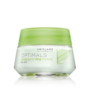 OPTIMALS - OXYGEN BOOST - krem na dzień do cery tłustej 50ml