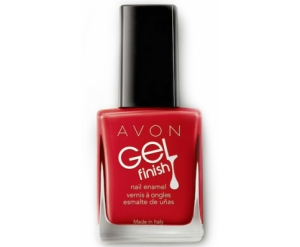 "AVON COLOR - żelowy lakier do paznokci ""Gel Finish"" =ROSES ARE RED="