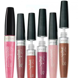 "AVON COLOR - iskrzący błyszczyk do ust ""Sparkle"" =GLIMMERING BRONZE= 6ml"