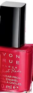 "TRUE COLOUR - PERFECT REDS -  lakier do paznokci ""Nailwear Pro+"" =RED BOMBSHELL="
