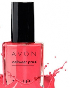 "AVON COLOUR - lakier do paznokci ""Nailwear Pro+"" =CORAL REEF="