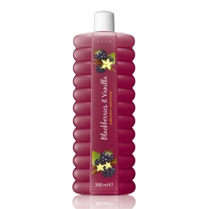 "BUBBLE BATH - płyn do kąpieli ""Blueberry / Aksamitne jagody"" 1000ml"