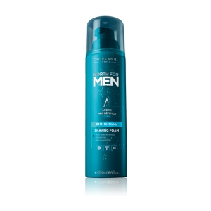 NORTH FOR MEN - ORIGINAL - pianka do golenia z kompleksem Arctic Pro Defence i cynkiem 200ml