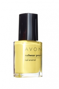 "AVON COLOUR - lakier do paznokci ""Nailwear Pro+"" =LEMON SUGAR="