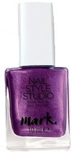 MARK - NAIL STYLE STUDIO - satynowy lakier do paznokci =HAIL TO THE QUEEN=