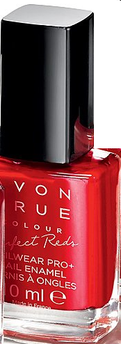 "TRUE COLOUR - PERFECT REDS - lakier do paznokci ""Nailwear Pro+"" =REAL RED="