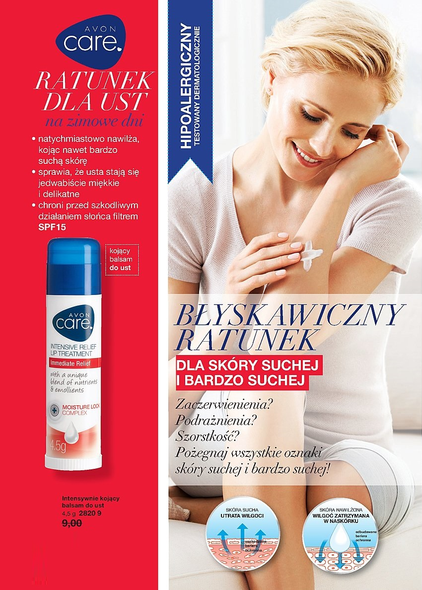 Avon Care Intensive Relief balsam do ust
