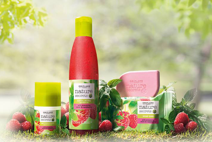 NATURE SECRETS MINT RASPBERRY mięta malina