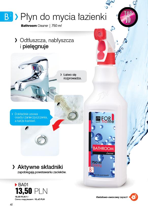 Fm For Home Płyn Do Mycia łazienki 750ml